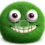 Vinilo Decorativo Monstruo Verde