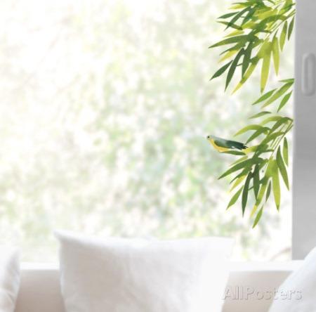 Vinilo decorativo hojas para el cristal vinilos decorativos - Vinilos para cristales ...
