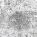 Vinilo Decorativo Mapa de Paris