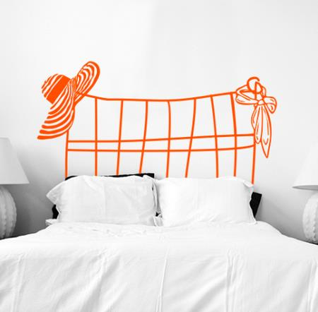Vinilo decorativo cabecero de cama vinilos decorativos for Vinilos cabecero cama