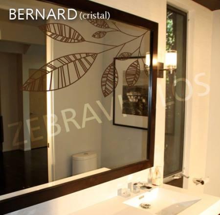 Vinilo decorativo hojas para espejo vinilos decorativos - Vinilos para espejos ...