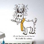 A mi burro, a mi burro, le duele …