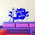 El legado del rock and roll en tu pared