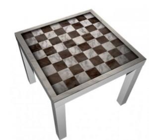 Vinilo Decorativo Mesa de ajedrez