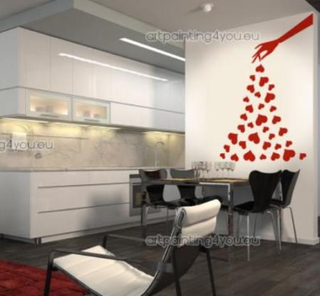 Mucho amor en la cocina vinilos decorativos - Vinilo decorativo cocina ...