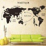 La vuelta al mundo… planifícala en tu pared