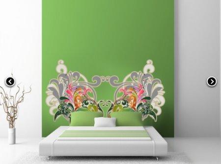Vinilo decorativo cabecero de cama vinilos decorativos - Vinilos decorativos cabecero ...