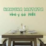 Vinilo Decorativo Hakuna Matata