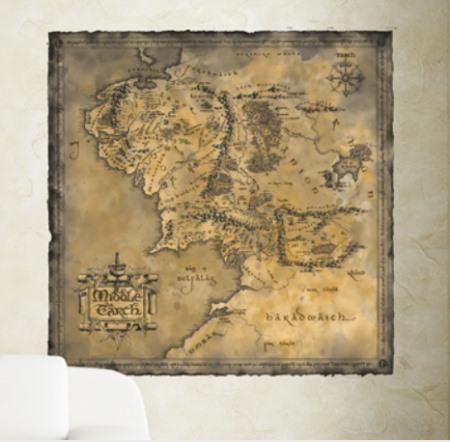 Vinilo Decorativo Tolkien