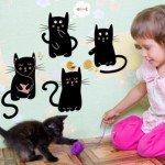 4 gatitos muy simpáticos para la habitación infantil