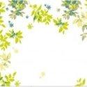 VInilo Decorativo Marco de hojas