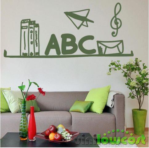 Vinilo Decorativo ABC