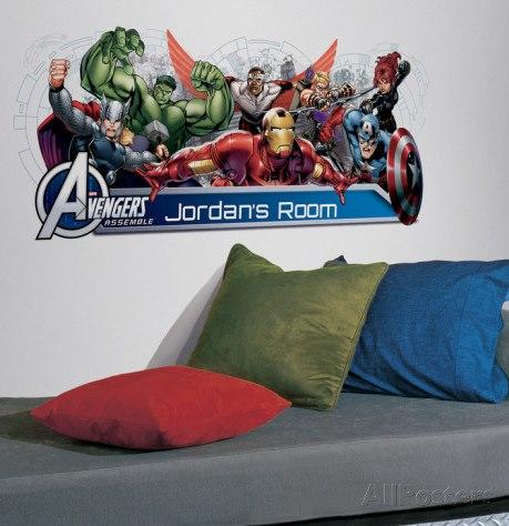 Vinilo Decorativo Avengers