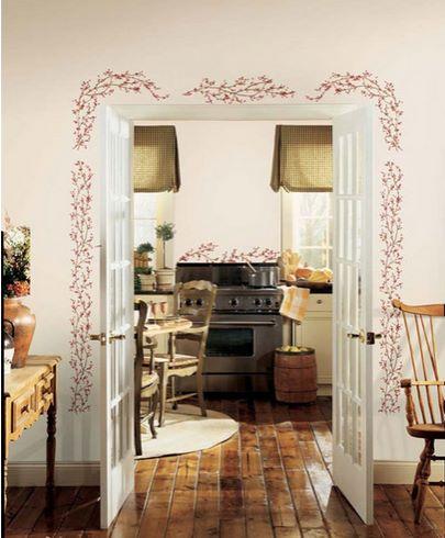 Vinilo decorativo cenefa ornamental vinilos decorativos for Vinilos decorativos para entradas