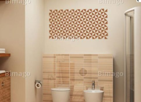Vinilo decorativo ornamental para la pared vinilos for Vinilos para paredes de banos