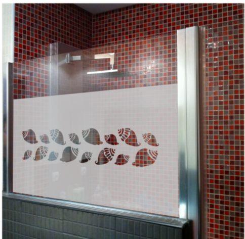 Vinilo decorativo mampara de ba os vinilos decorativos - Vinilos decorativos cristal ducha ...