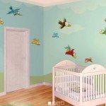 Simpáticos pájaros para decorar la habitación infantil
