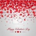 Vinilo Decorativo corazones San Valentin
