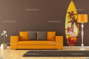 Vinilo decorativo Tabla de Surf