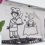 Una pareja de cocineros para la cocina