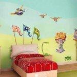 Escuela de magia; un diseño encantador para el dormitorio infantil
