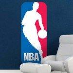El logo de la NBA para el dormitorio juvenil