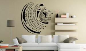 vinilo-decorativo-cabeza-de-leon