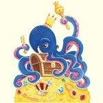 El pulpo que protege el tesoro en el fondo del mar