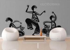vinilo-decorativo-tribal