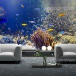 Decora con peces una pared entera