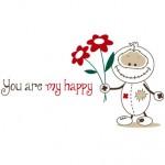 vinilo-decorativo-you-are-my-happy