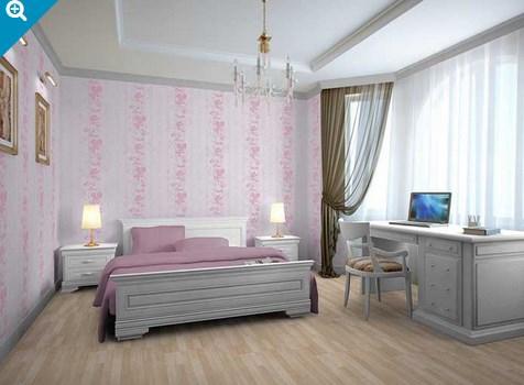 Vinilo decorativo papel pintado floral vinilos decorativos - Vinilos decorativos habitacion ...