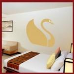 vinilo-decorativo-cisne