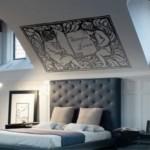 Hermoso cabecero de cama estilo Edad Media
