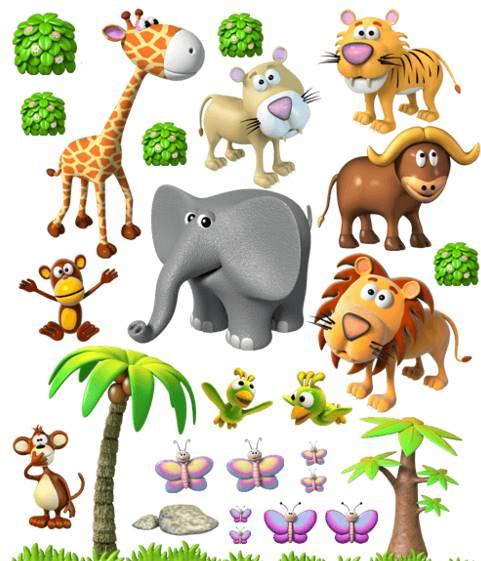 Vinilo Decorativo Safari