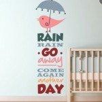 La nana de la lluvia para la habitación del bebé