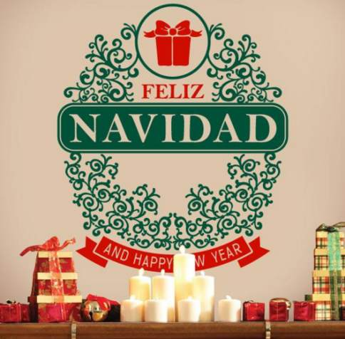 Vinilo decorativo navidad vinilos decorativos for Vinilos decorativos navidad