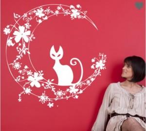 vinilo-decorativo-gato-en-luna