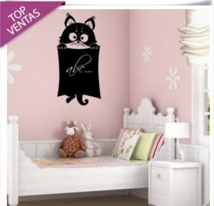 vinilo-decorativo-gato-pizarra