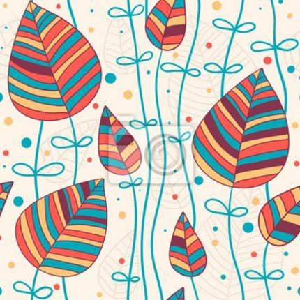 Vinilo decorativo hojas de colores vinilos decorativos - Papeles de vinilo para pared ...