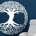 Vinos decorativos árbol celta