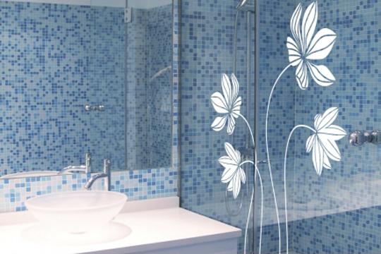 Vinilos decorativos para azulejos ba o for Placas de vinilo para banos