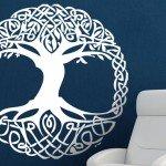 Vinilo de árbol celta, la magia llegó a tu hogar