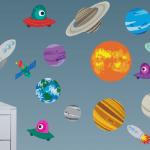 Vinilos de planetas