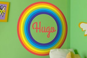Vnilo infantil arco iris
