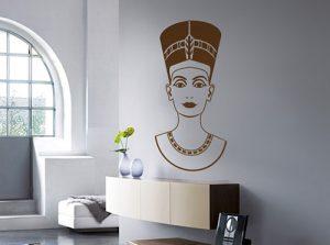Vinilo decorativo de Nefertiti