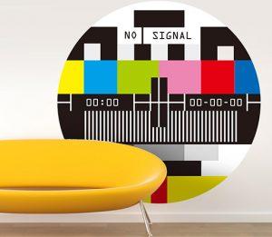 Vinilo de carta de ajuste de TV