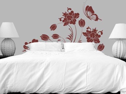 Convierte un vinilo en el cabecero de la cama vinilos decorativos - Vinilos decorativos para cabeceros de cama ...