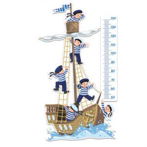 Vinilos infantiles barco y grumetes