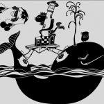 Aventura marina en un vinilo infantil